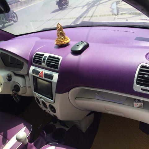 đổi màu nội thất xe