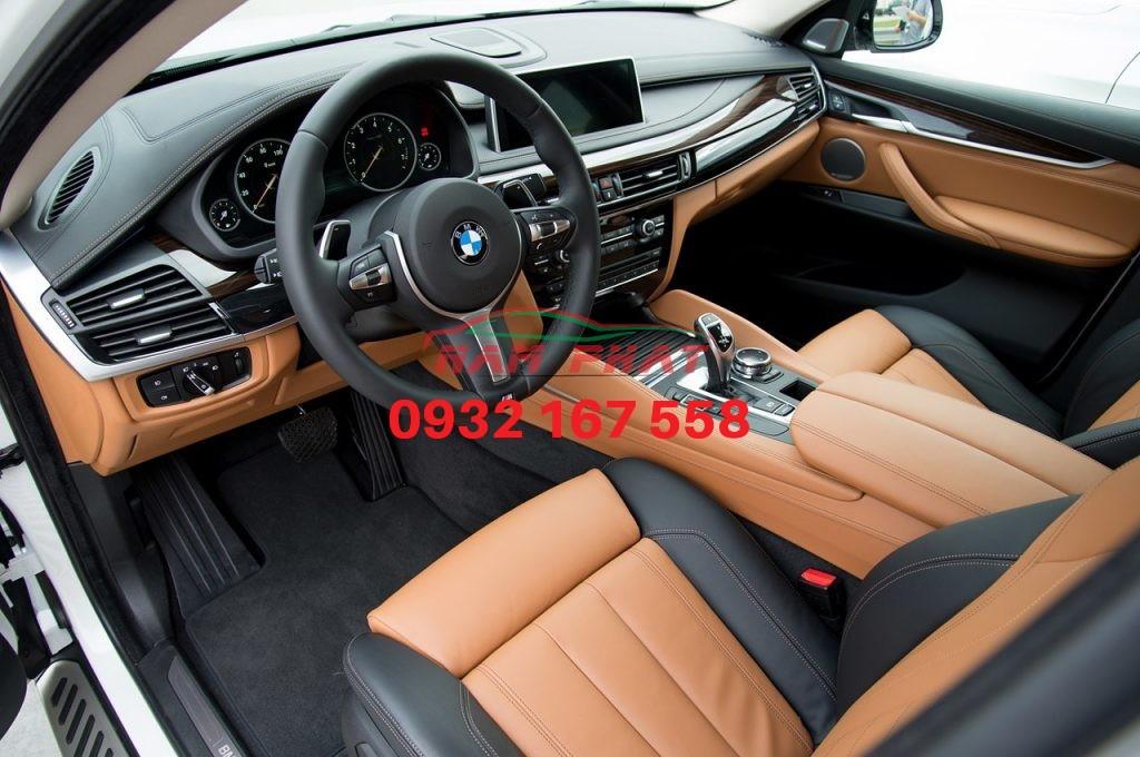 Bọc ghế da BMW X6
