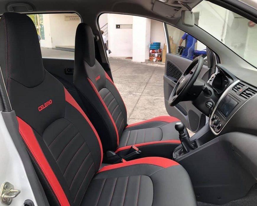 bọc ghế da Suzuki Celerio