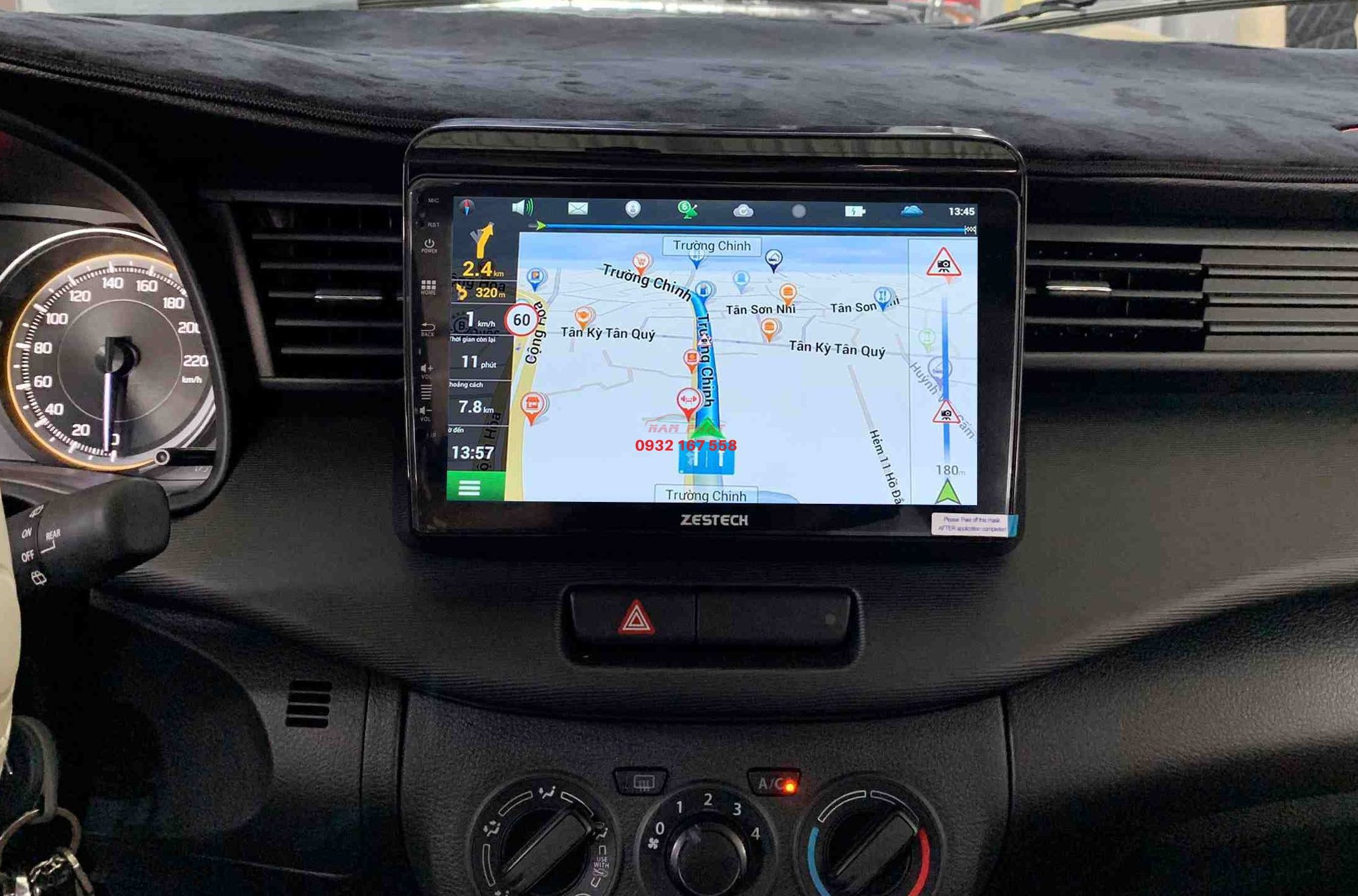 lắp màn hình Android cho Suzuki Ertiga