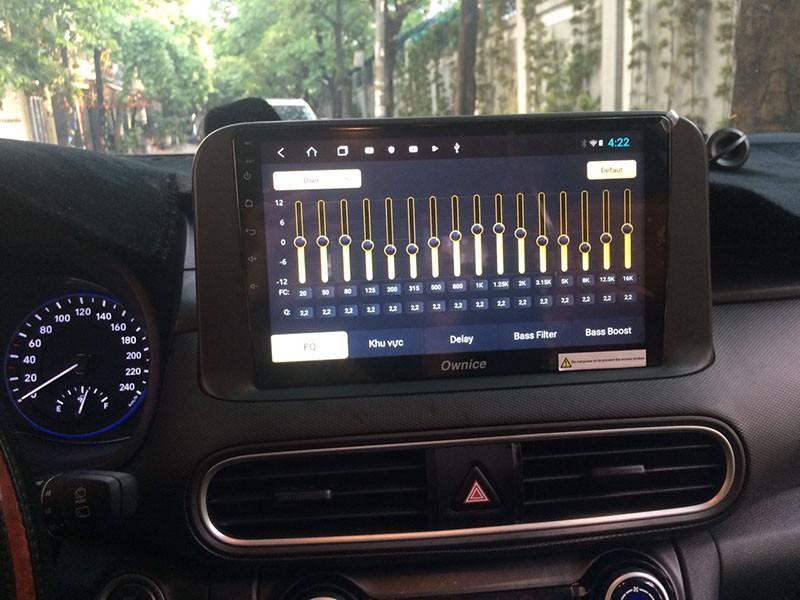 màn hình android cho hyundai kona