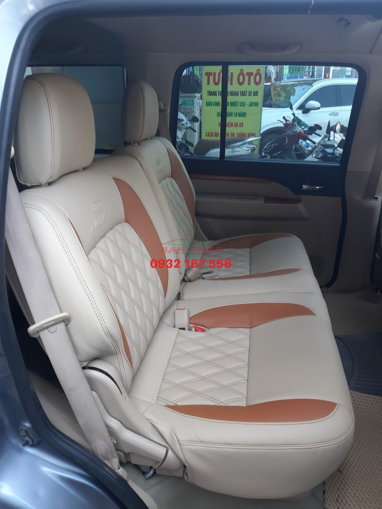 bọc ghế da Ford Everest