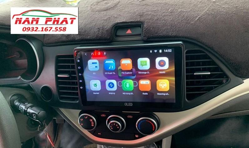 Lắp màn hình Android cho Kia Morning