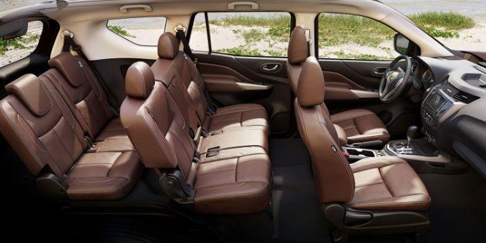 bọc ghế da xe Nissan Terra