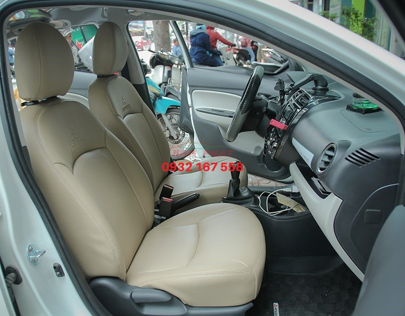 bọc ghế da Mitsubishi Attrage