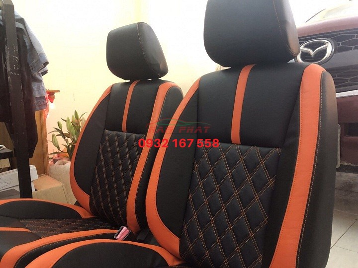 Bọc ghế da xe Isuzu Dmax