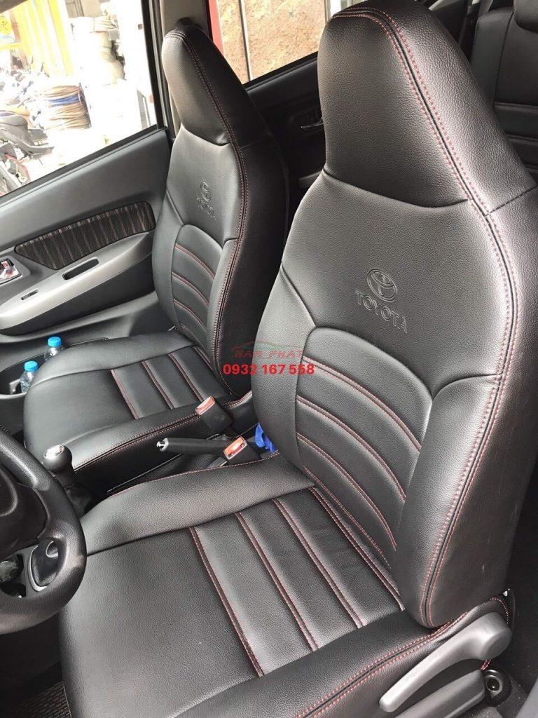 bọc ghế da Toyota Wigo