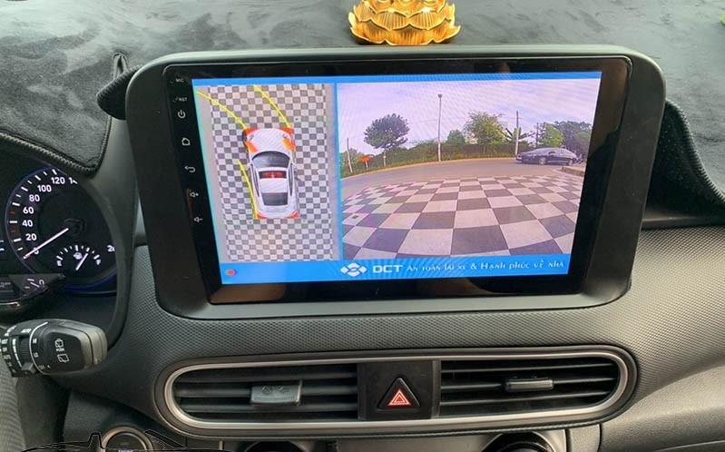 lắp màn hình Android cho Hyundai Kona