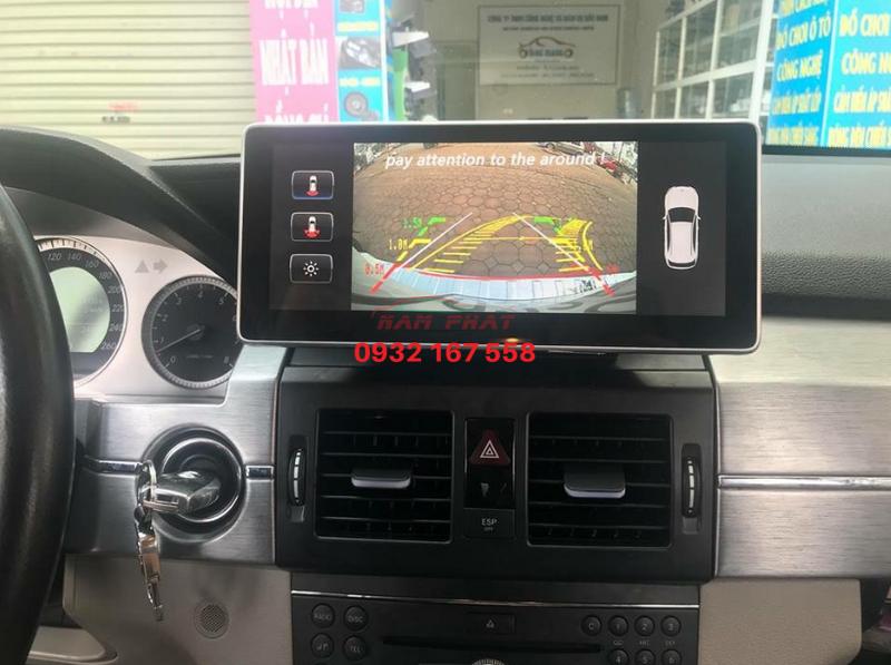 Lắp màn hình Android cho Mercedes GLK 250