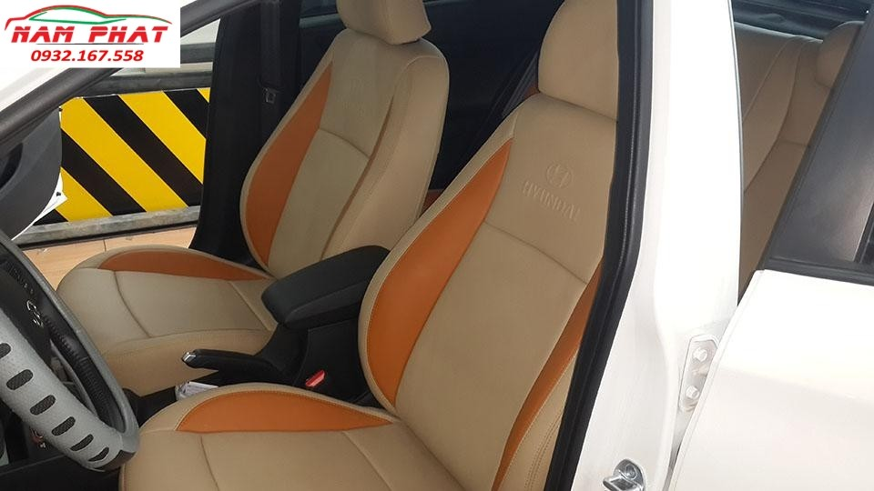 Bọc ghế da Hyundai I20 Active