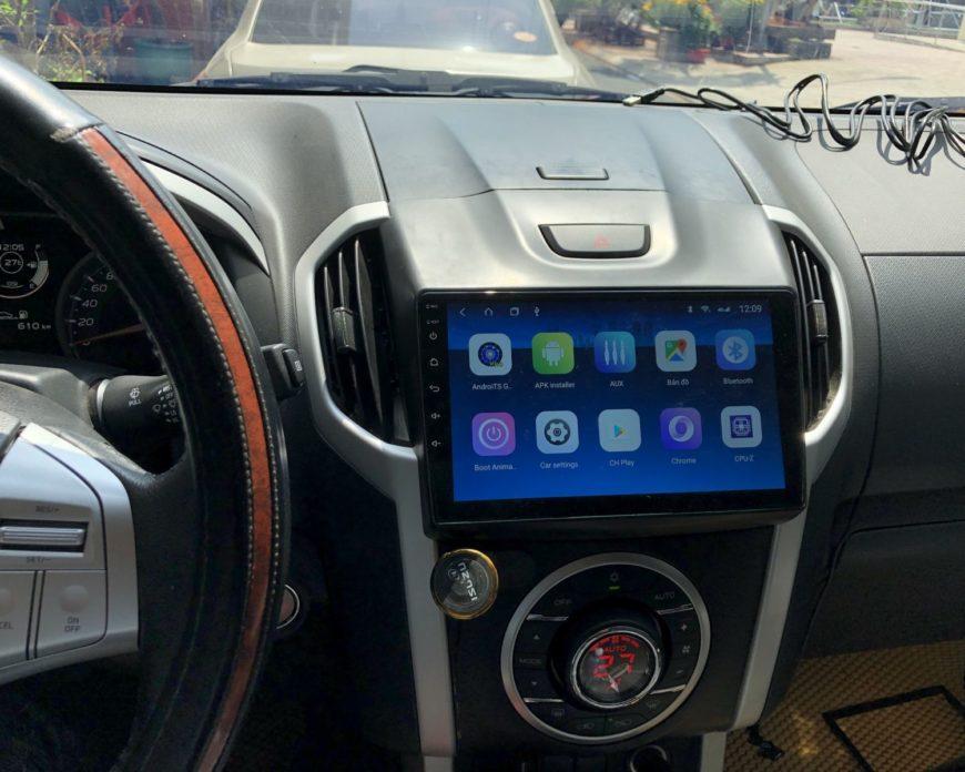 Lắp màn hình Android cho ISUZU Mu-X