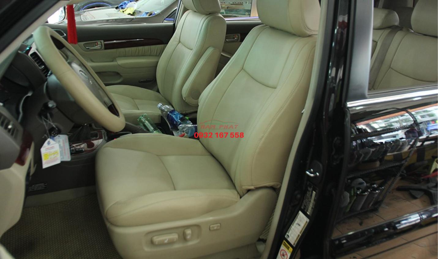 bọc ghế da xe lexus GX470