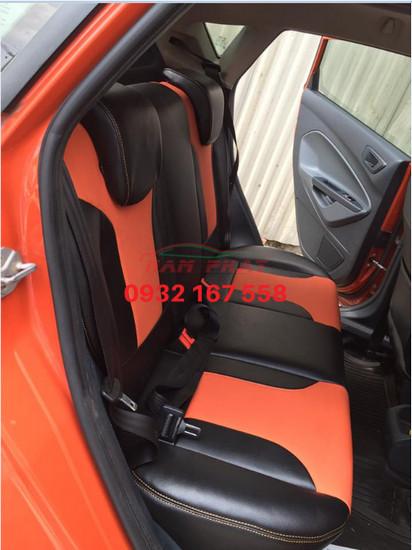 Bọc ghế da Ford Fiesta