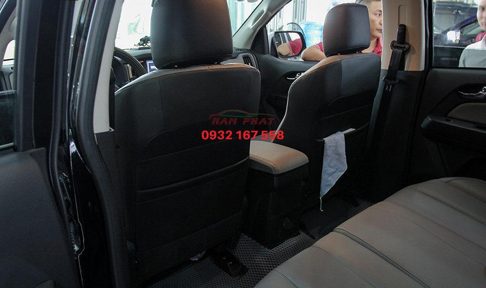 bọc ghế da xe chevrolet colorado