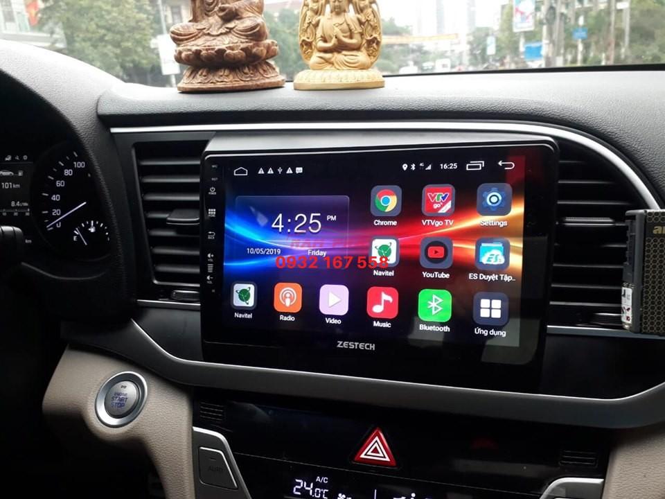 lắp màn hình Android cho Hyundai Elantra