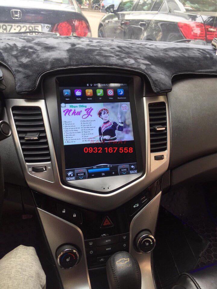 lắp màn hình Android cho Chevrolet Cruze