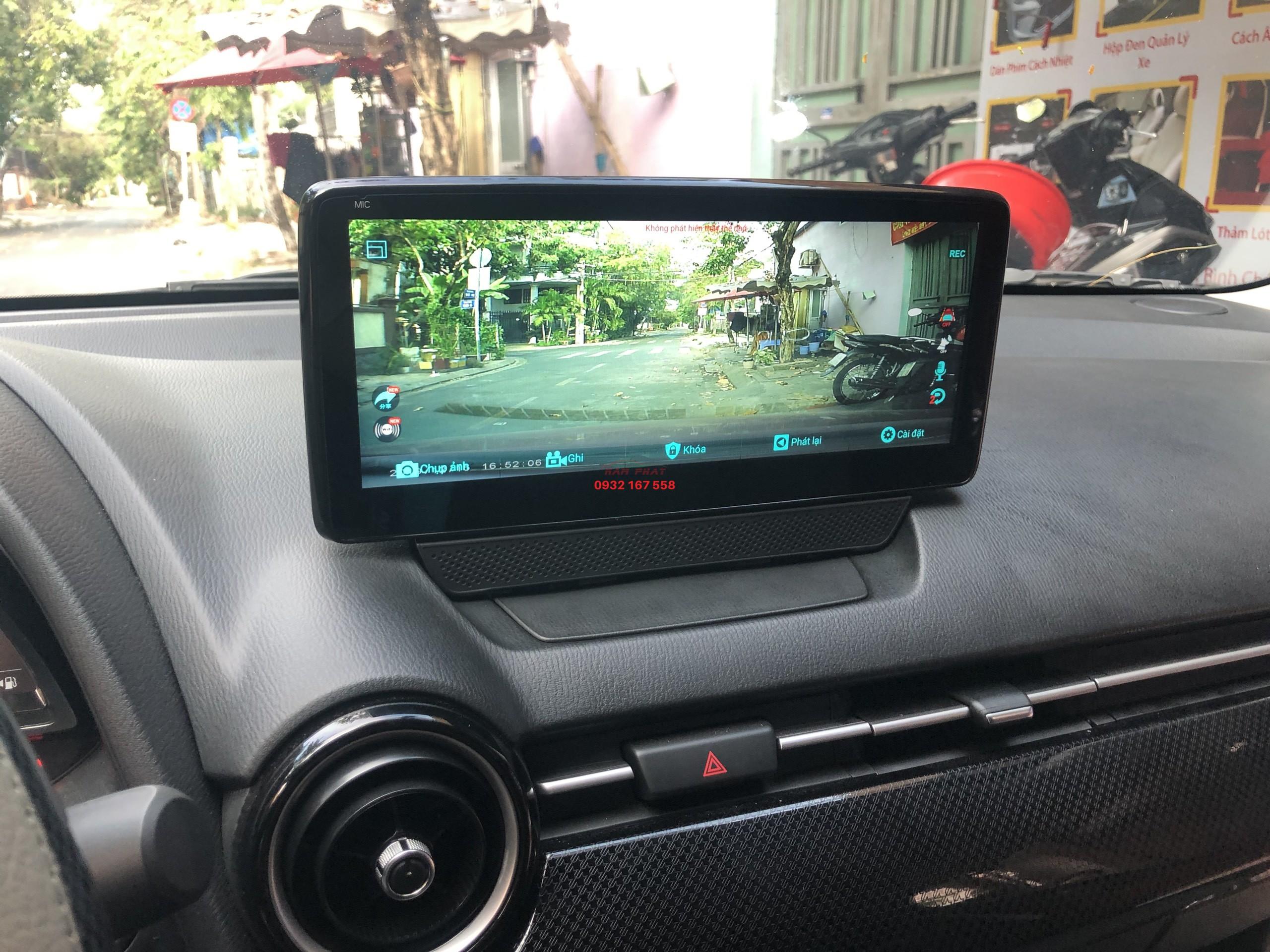 Lắp màn hình Android cho Mazda 2