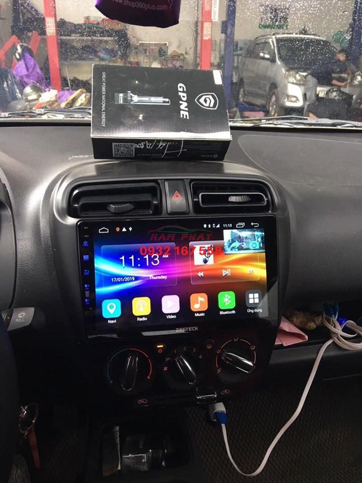 Lắp màn hình Android cho Mitsubishi Attrage