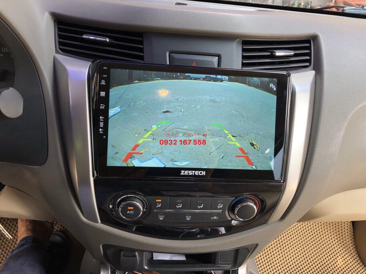 Lắp màn hình Android cho Nissan Navara