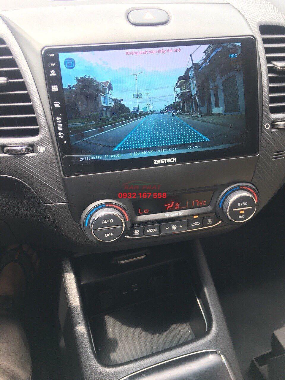 Lắp màn hình Android cho Kia K3