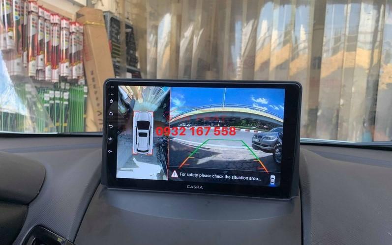 Lắp màn hình Android cho Ford Fiesta