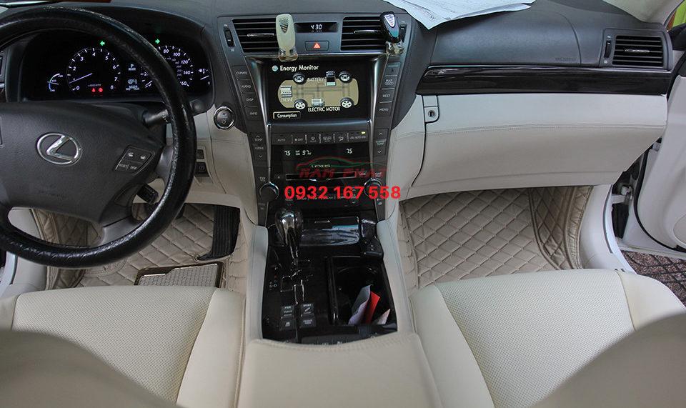 bọc ghế da xe Lexus LS600HL