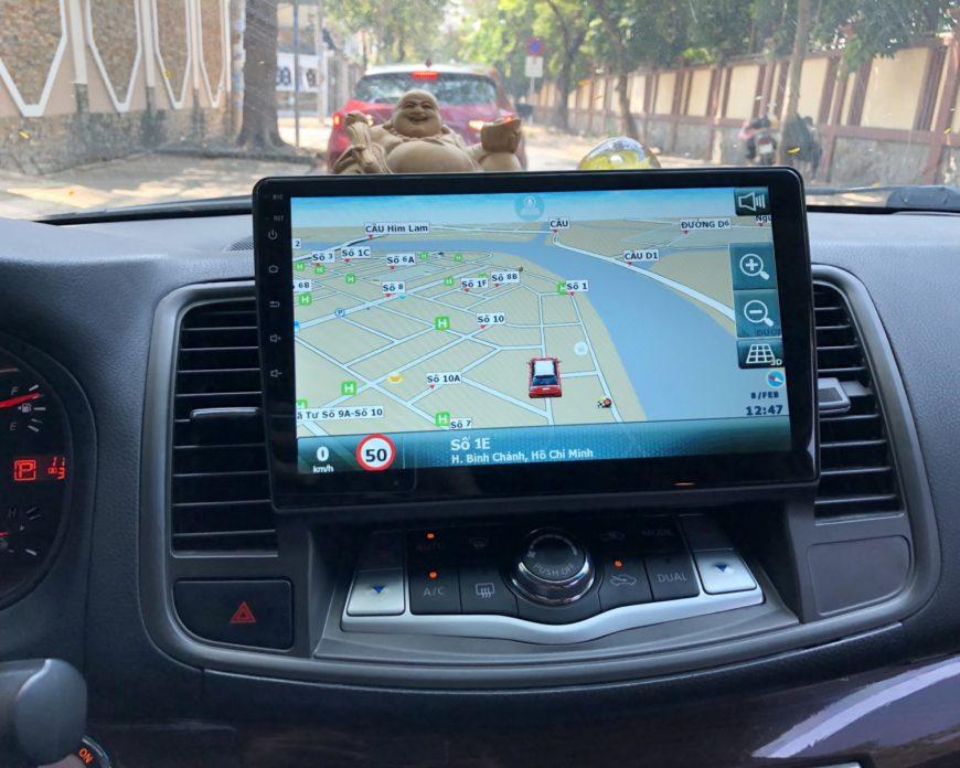 Lắp màn hình Android cho Nissan Teana