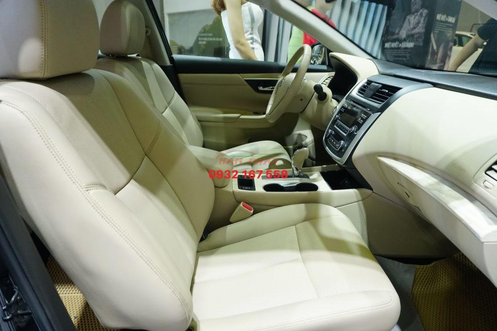 bọc ghế da xe Nissan Teana