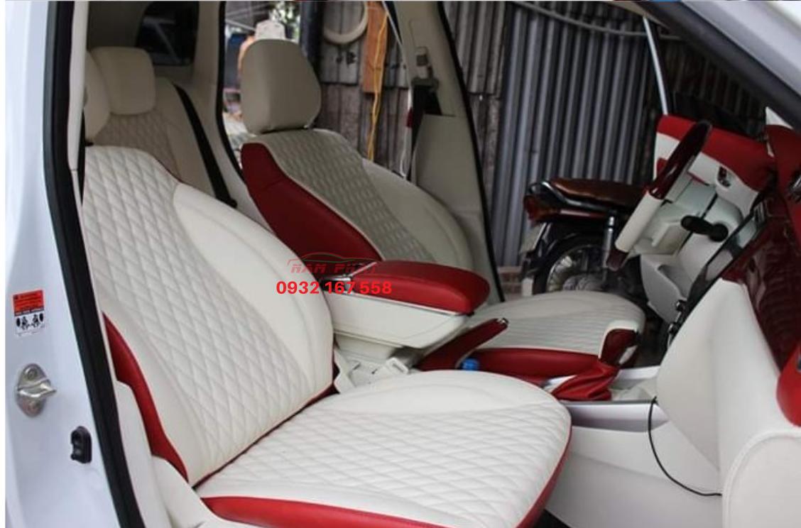 bọc ghế da xe Suzuki Vitara