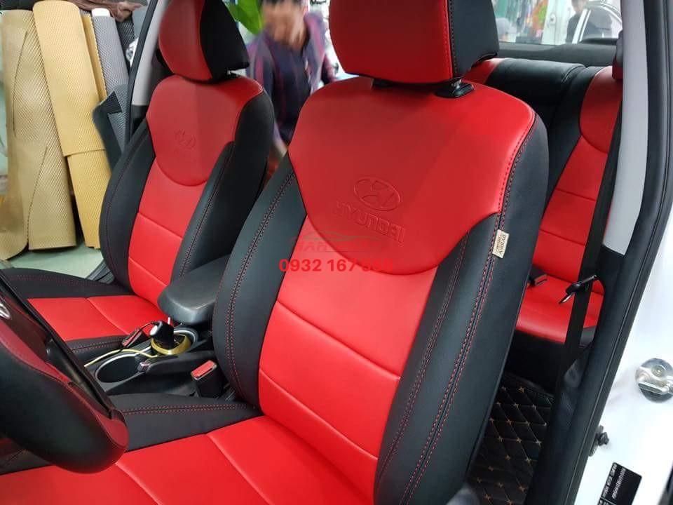 bọc ghế da cho Hyundai i10