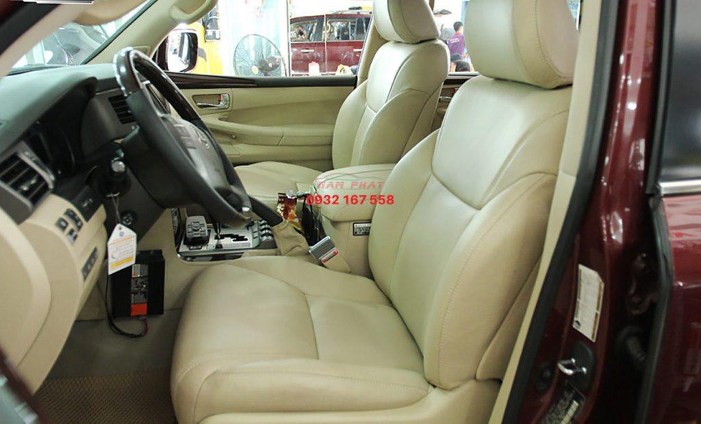 bọc ghế da xe Lexus LX570