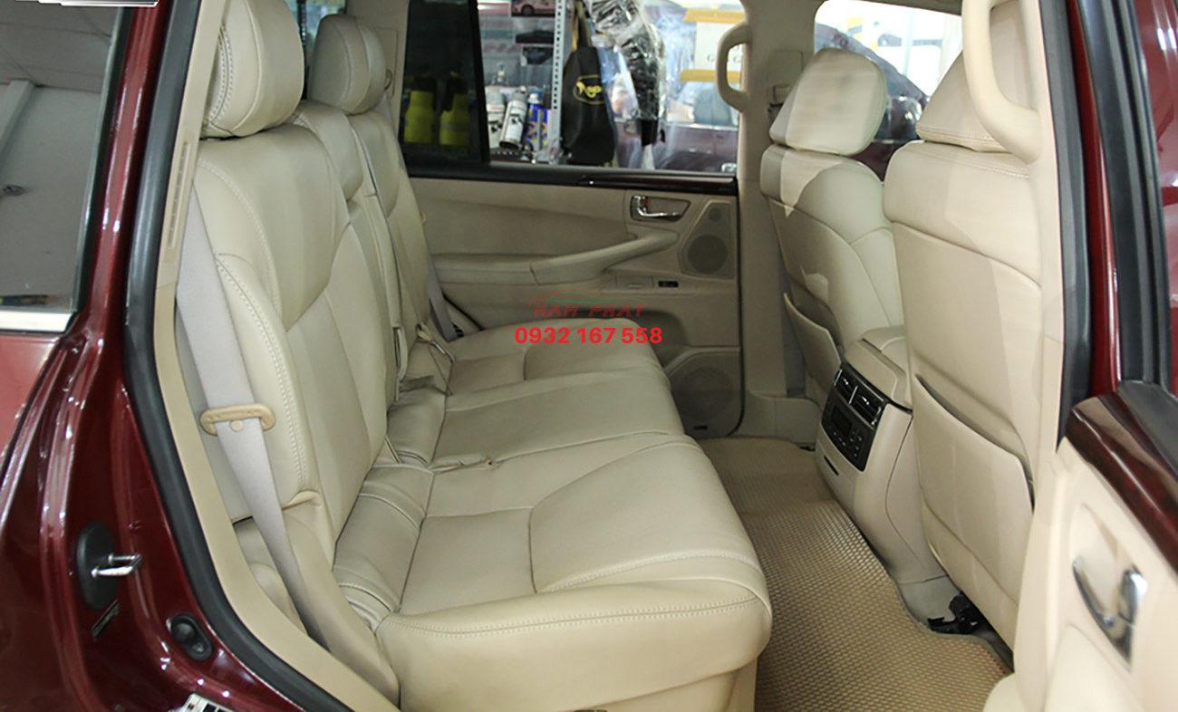 bọc ghế da cho Lexus LX570