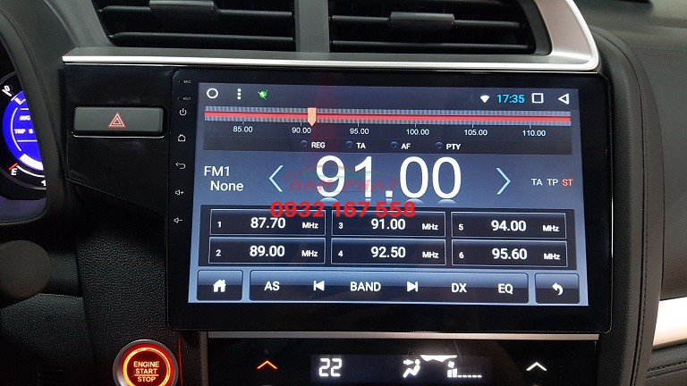 Lắp màn hình Android cho Honda Jazz