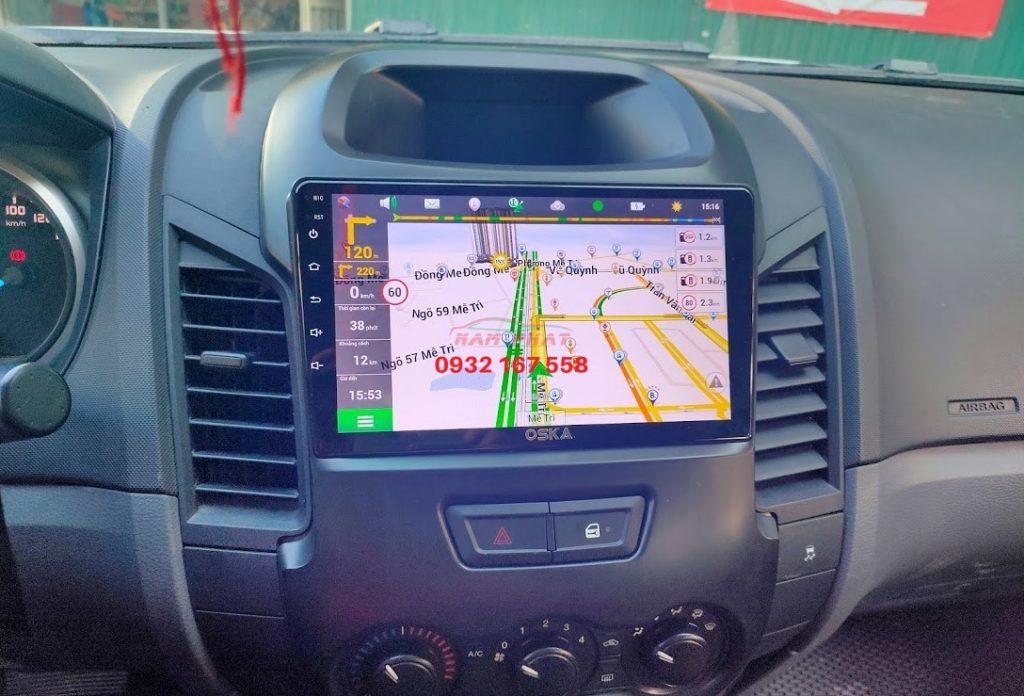 Lắp màn hình Android cho Ford Ranger XLS