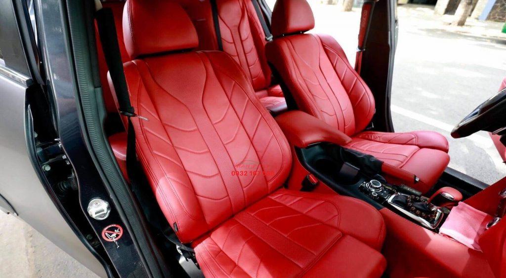 bọc ghế da xe BMW 320i