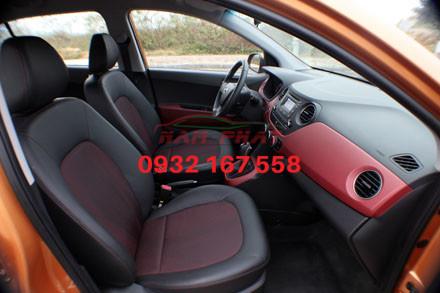 bọc ghế da xe Hyundai i10