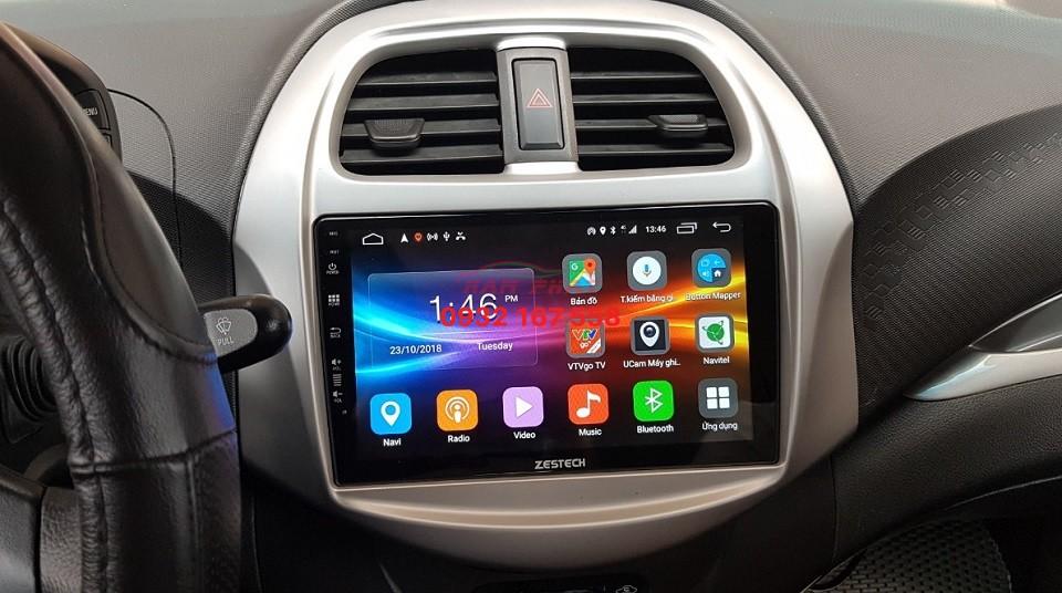 Lắp màn hình Android cho Chevrolet Spark