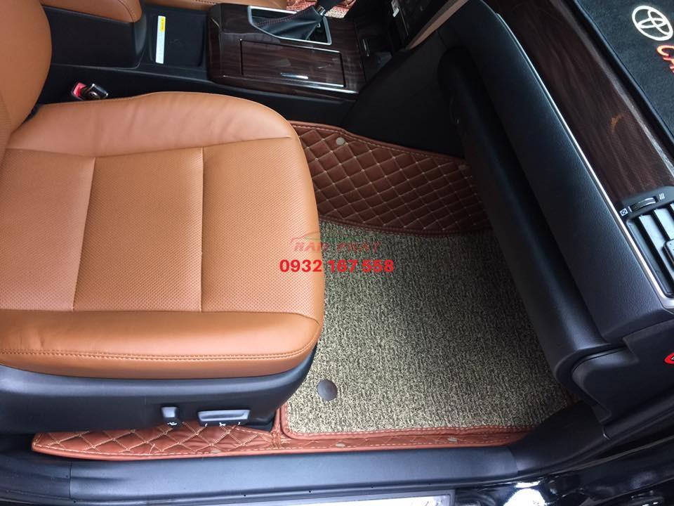 Thảm lót sàn 6D Toyota Camry