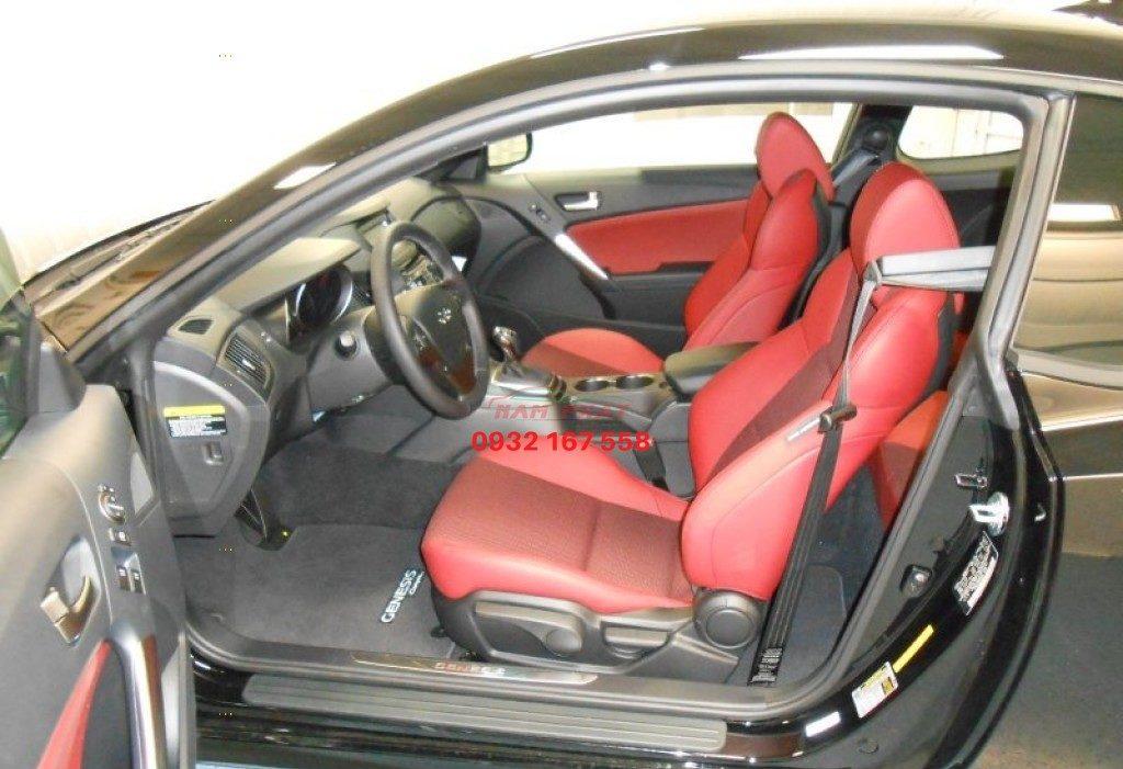 bọc ghế da xe Hyundai Genesis
