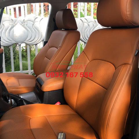bọc ghế da xe Toyota Prado