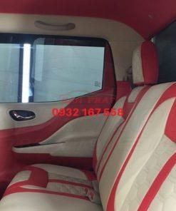 đổi màu nội thất Nissan Navara