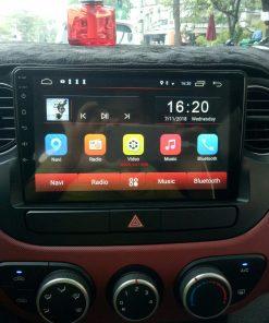 Lắp màn hình Android cho Hyundai i10