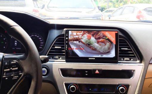 Lắp màn hình Android cho Hyundai Sonata