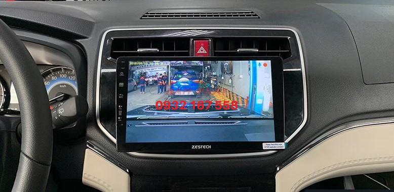 Lắp màn hình Android cho Toyota Rush