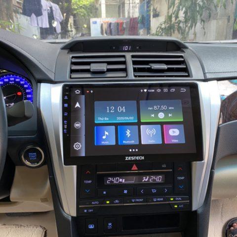 Lắp màn hình Android cho Toyota Camry