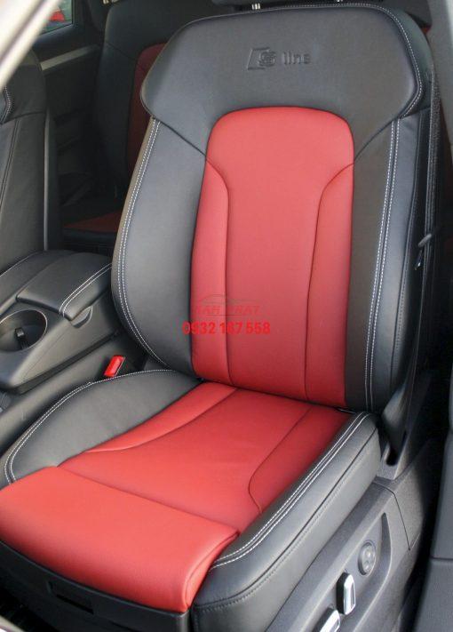 bọc ghế da xe Audi Q7