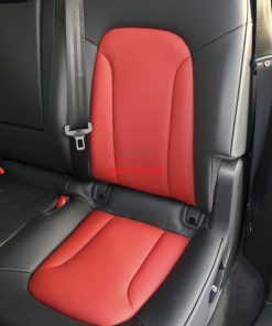 audi q7 s line 7 seat black leather with red inserts silver stitching 005 1000