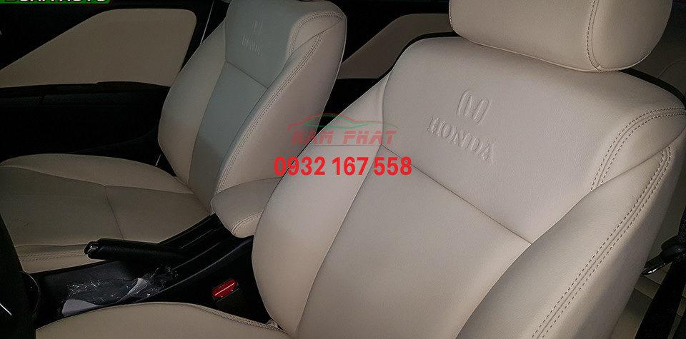 bọc ghế da xe Honda Jazz