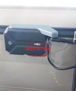 lắp cửa lùa điện tự động