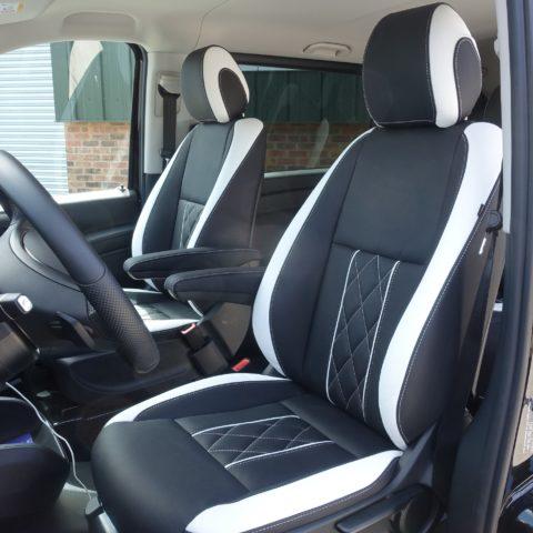 bọc ghế da xe mercedes-benz vito